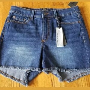 Buffalo David Bitton Jean Frayed Shorts Size 29